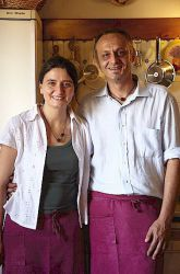 Jacopo Tendi and Anna Bigi