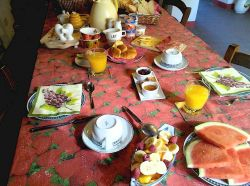 Breakfast is available for 10 euros per person