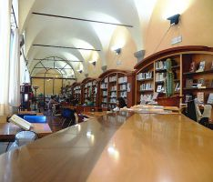 Municipal library of Greve in Chianti