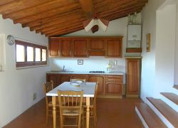 Fully-equipped vacation rental kitchen