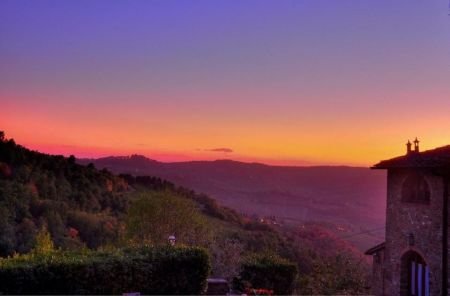 Sunset at Poggio all'Olmo